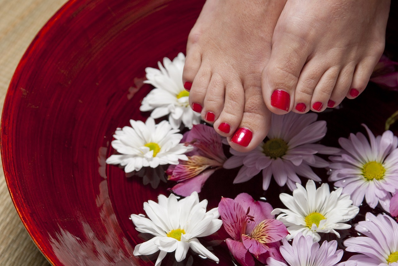 Pedicure at Super Nails